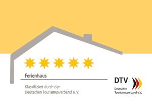 Klassifizierung durch den Deutschen Tourismusverband: 5 Sterne